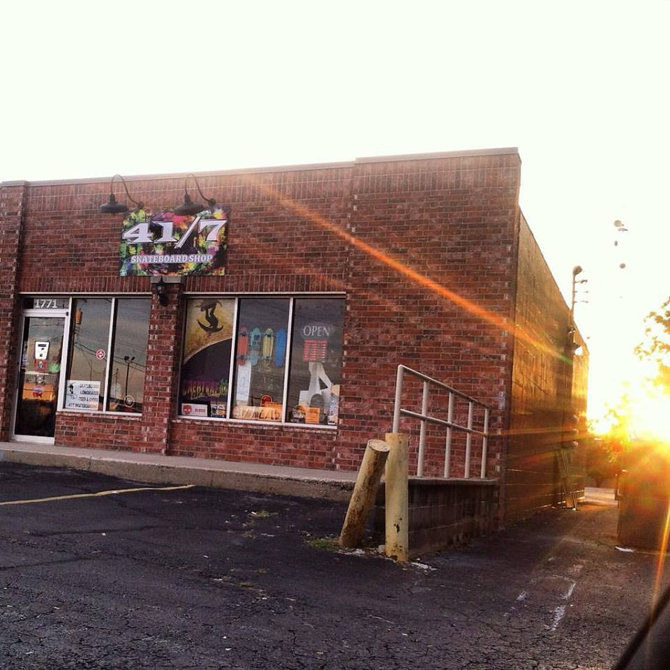 41/7 Skateboard Shop, 1771 S. Grant Ave., Springfield, Missouri, 65807, USA